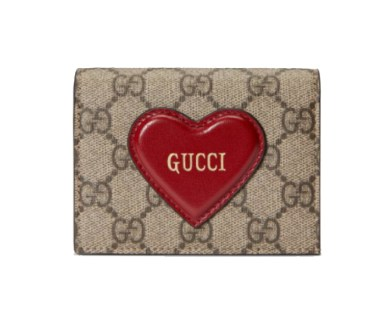 Gucci Valentine's Day card case wallet