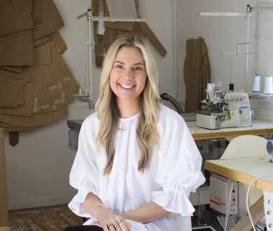 Fashion designer Caitlin Crisp on buttons and Brene Brown