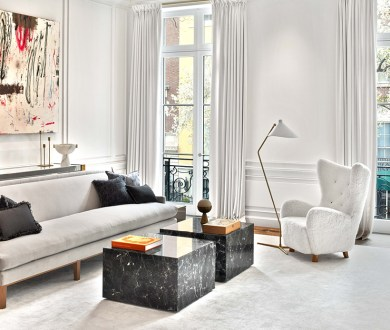 Classic and contemporary collide in this impressive and entirely original townhouse