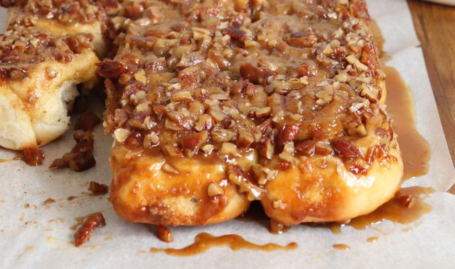 Need a pick-me-up? This recipe for pecan caramel sticky buns might be just the ticket