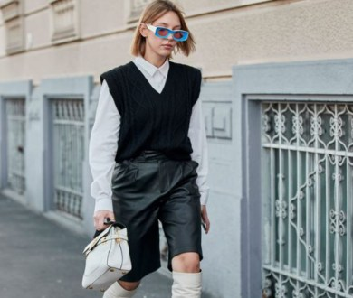 Here's why a sweater vest is your autumn wardrobe's new best friend