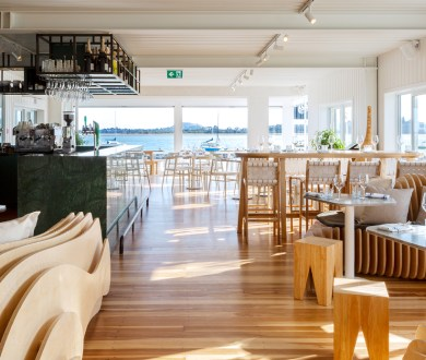 Discover the new beachfront eatery that's luring us to the Eastern suburbs