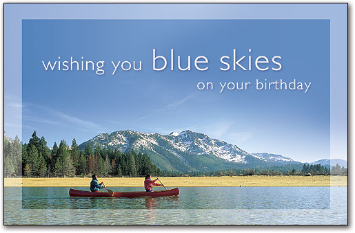 Nature And Scenic Photograph Birthday Postcards Smartpractice Chiropractic