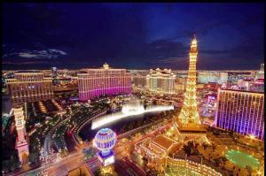 % Las Vegas
