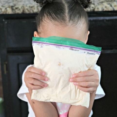 Ice Cream in a Bag Kid Recipe