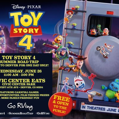 Toy Story 4 RV in Denver