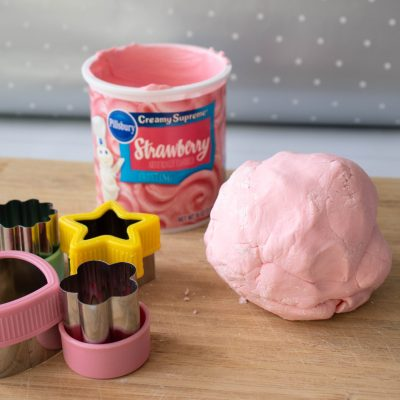 2 Ingredient edible strawberry PlayDough
