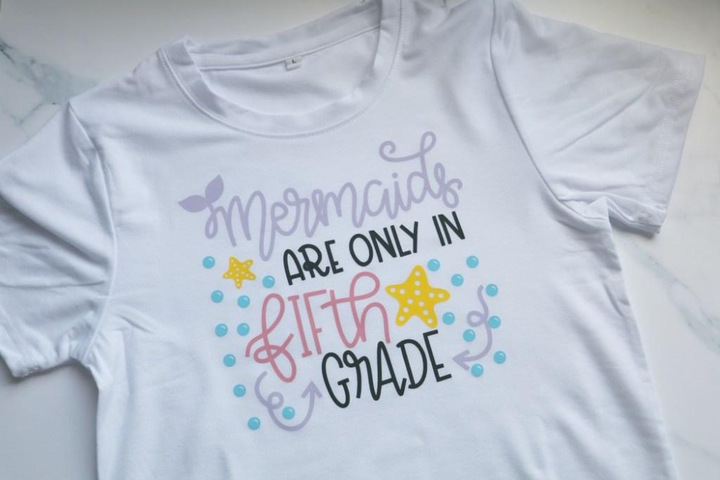 Mermaids 5th grade shirt