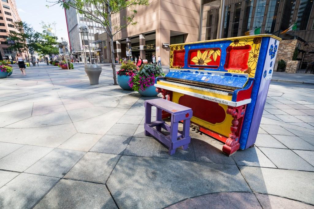 Denver Street Art Piano