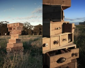 The Desert Echo Recycled Drawers