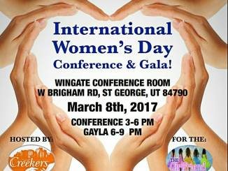 Creekers Foundation International Women's Day St. George