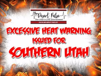 Excessive Heat Warning Southern Utah
