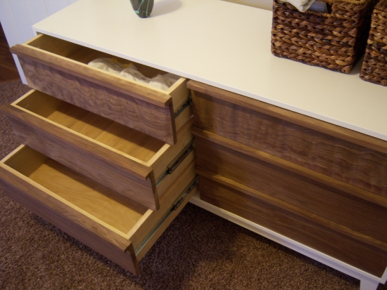 Drawers and In Progress Shot for Reader Showcase // Steppe Dresser for our New Baby!