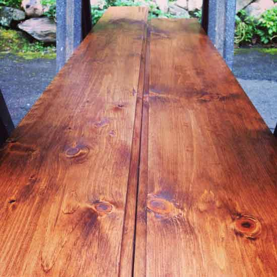Reclaimed Lumber for Reader Showcase // Emerson Queen Size Bed