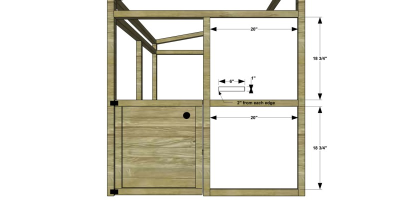 You Can Build This! Easy DIY Plans from The Design Confidential Free DIY Furniture Plans // How to Build a Kids Bungalow Playhouse via @thedesconf
