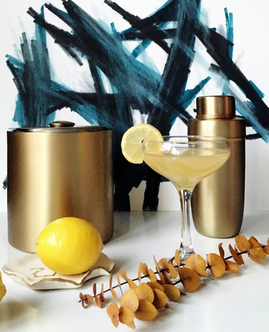 The Design Confidential x Bernzomatic   Damrells Fire Cocktail Recipe using Blow Torch