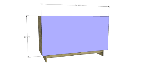 Attach the Back for Free DIY Furniture Plans to Build an Emmerson 6 Drawer Dresser