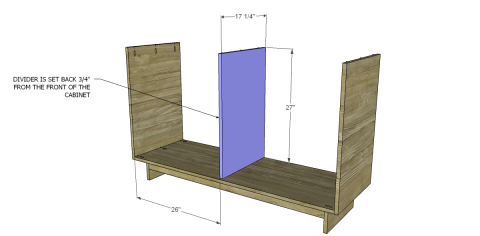 DIY Dresser Divider for Free DIY Furniture Plans to Build an Emmerson 6 Drawer Dresser