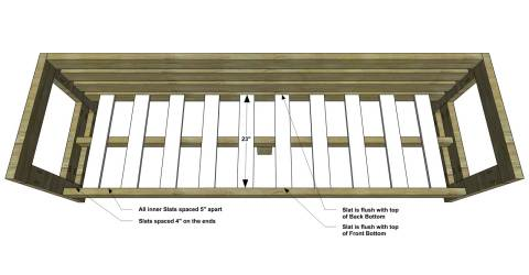 Free DIY Furniture Plans // How to Build an Aegean Outdoor Sofa