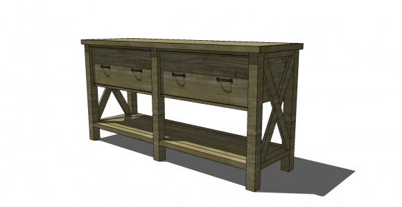 You Can Build This! Easy DIY Furniture Plans from The Design Confidential with Complete Instructions on How to Build a Belmont Buffet via @thedesconf
