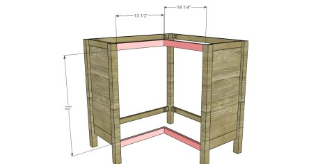 Bookcase Front Supports for The Design Confidential for Free DIY Furniture Plans to Build a Pottery Barn Kids Inspired Cameron Corner Bookcase