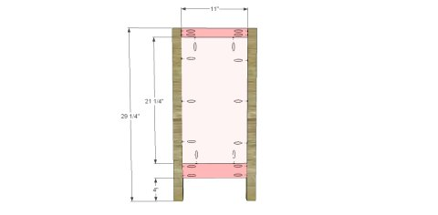 Bookcase Sides for The Design Confidential for Free DIY Furniture Plans to Build a Pottery Barn Kids Inspired Cameron Corner Bookcase