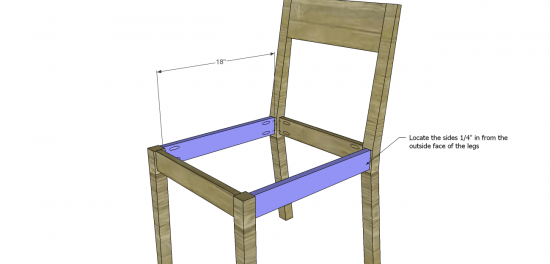 Free DIY Furniture Plans to Build a Kase Chair The Design Confidential