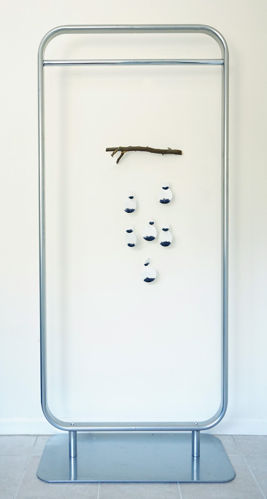 The Design Confidential DIY Ceramic Mobile and Wind Chime