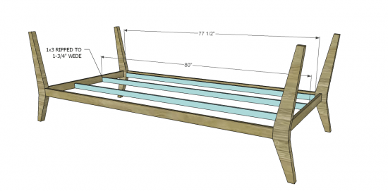 Diy Inspiration Daybeds: Free DIY Furniture Plans To Build A PB Inspired Chesapeake