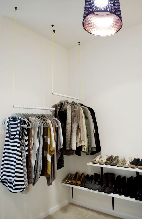 The Design Confidential DIY Just Add Shelves Easy DIY Shelving For Stylish Shoe Storage