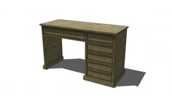 Superb Free Diy Furniture Plans To Build A Campaign Desk The Download Free Architecture Designs Scobabritishbridgeorg