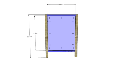 Constructing the Sides for Free DIY Furniture Plans // How to Build a Hughes Desk