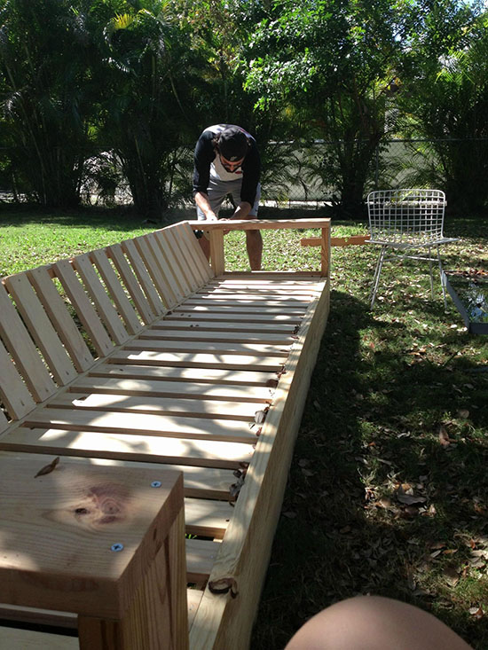 Adding the Slats for a Real Reader Build and Showcase for a DIY Outdoor Sofa Build