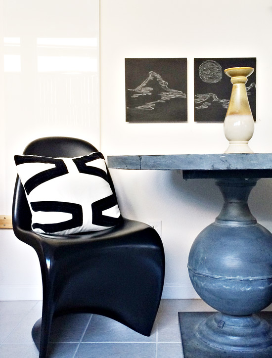 The Design Confidential Blank Wall Overhaul // Stick It Click It Swap It Out