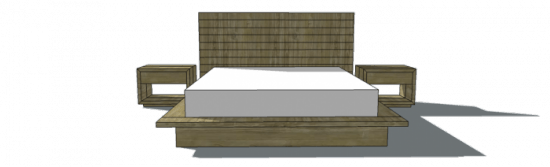 Inspirational Free Woodworking Plans to Build a Viva Terra Inspired King Sized Vintage Fir Platform Bed The Design Confidential