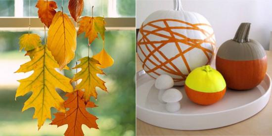 The Design Confidential / Fabulous Fall DIY Projects Round Up