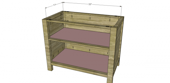 You Can Build This! Easy DIY Furniture Plans from The Design Confidential with Complete Instructions on How to Build a Hendrix Lateral File via @thedesconf