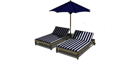 Free DIY Furniture Plans To Build A PB Inspired Chesapeake Double Lounger    The Design Confidential