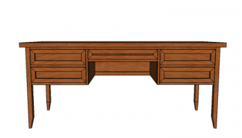Free Woodworking Plans To Build A Potterybarn Inspired Hudson Desk