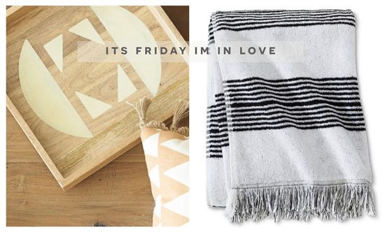 Design Confidential Roundup of Home Decor for It's Friday I'm In Love Footloose Fancy Fringe