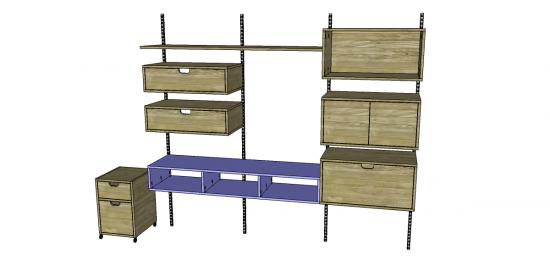 Free DIY Furniture Plans To Build A West Elm Inspired Design Workshop  Divided Box Component