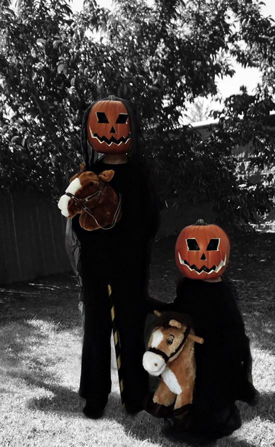 Easy Halloween DIY // Headless Horseman Costume