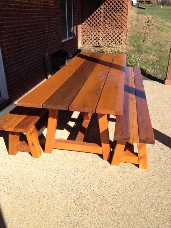 Trend Reader Showcase Bob us Provence x table with benches