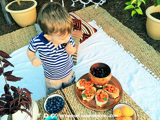 Picnic and Entertaining for the Home Depot Style Challenge Outdoor Games Edition
