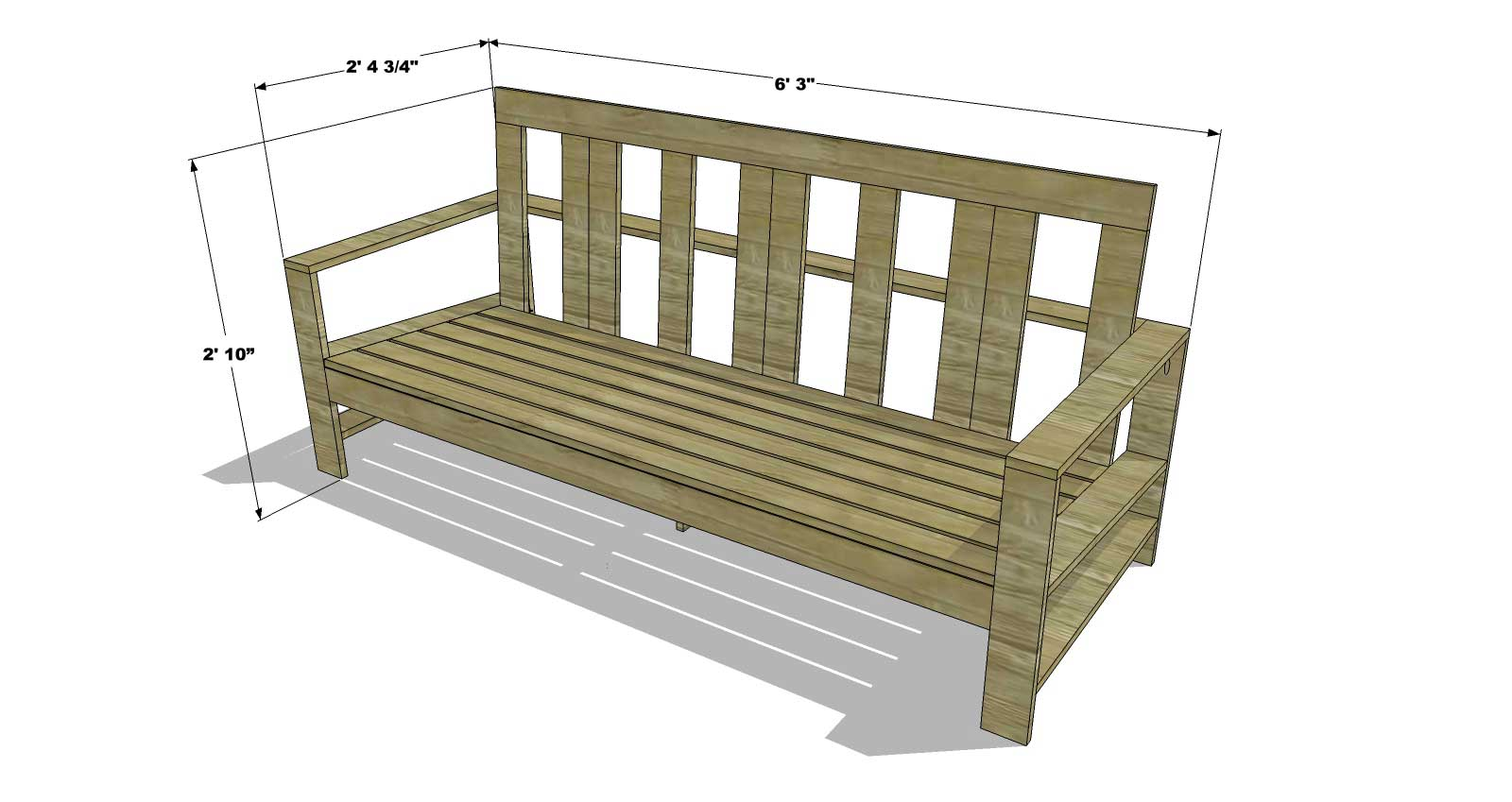 You Can Build This! The Design Confidentialu0027s Easy DIY Furniture Plans To  Build An Outdoor