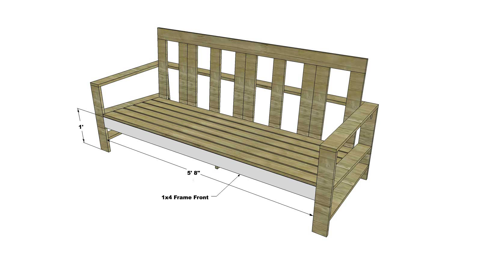 The Design Confidential\u0027s Easy DIY Furniture Plans to Build an Outdoor
