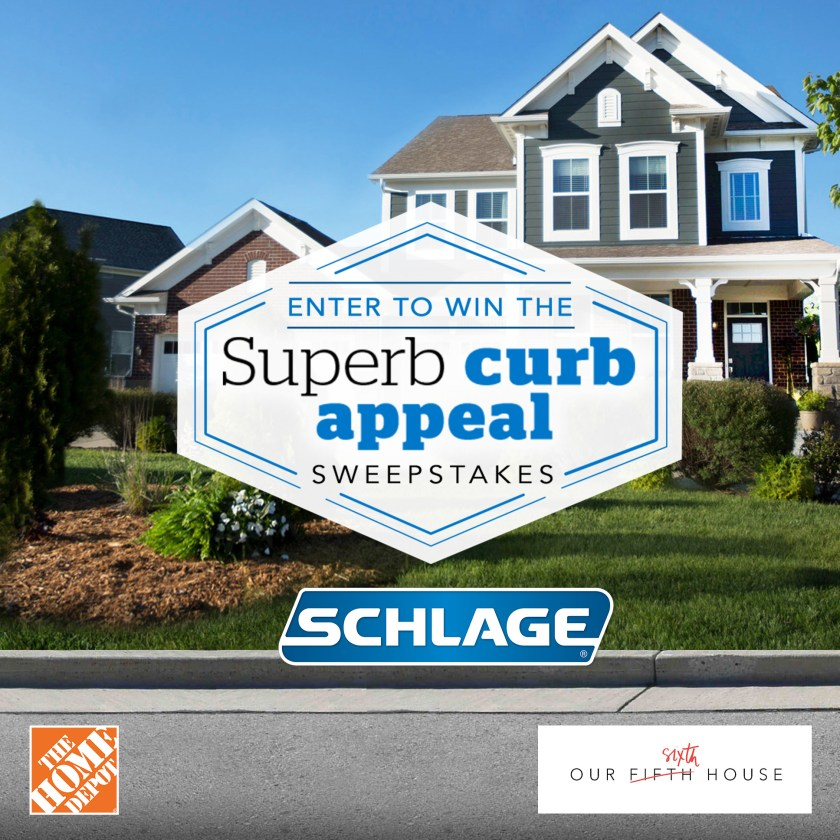 The Design Confidential x Schlage Curb Appeal Update via @thedesconf