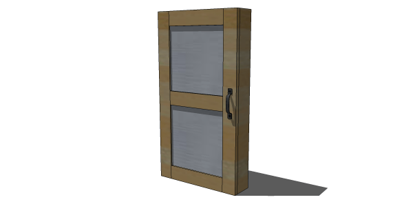 Free DIY Furniture Plans To Build A Tall Jewelry Armoire   The Design  Confidential