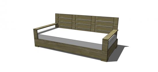 Free DIY Furniture Plans to Build an Indoor Outdoor ...