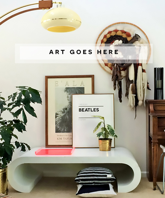 Weekend Wall Challenge Reveal // $500 Sweepstakes and the Domino + Minted Art Collection